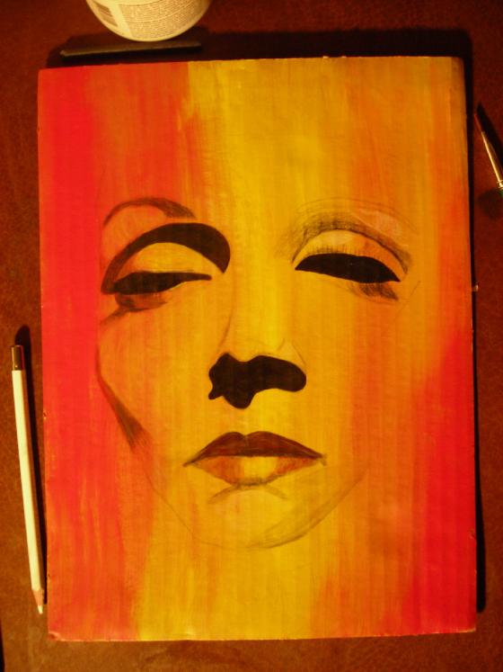 Marlene Dietrich by Jessica Barton