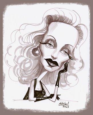 Marlene Dietrich by Adriana Juarez