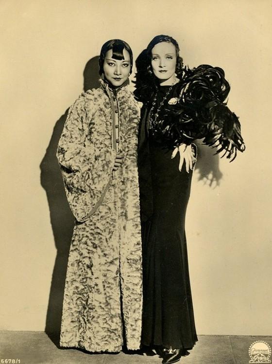 Marlene Dietrich & Anna May Wong