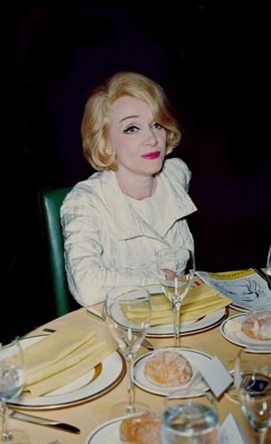 Marlene Dietrich by Santi Visalli