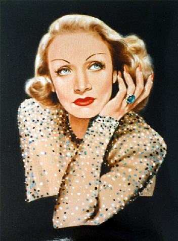 Marlene Dietrich by Kumi Pickford