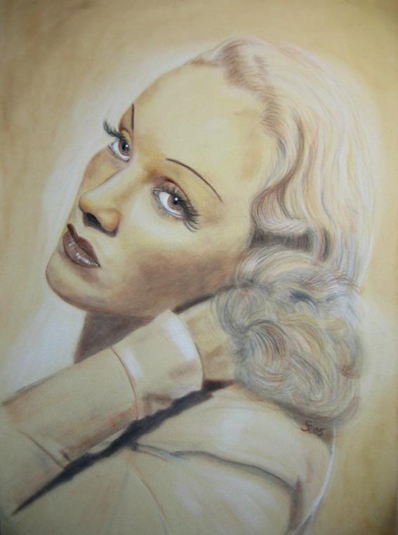 Marlene Dietrich by Rita Ria