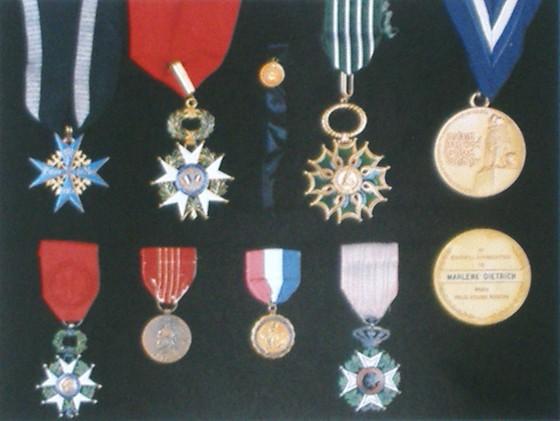 Marlene Dietrich Medals