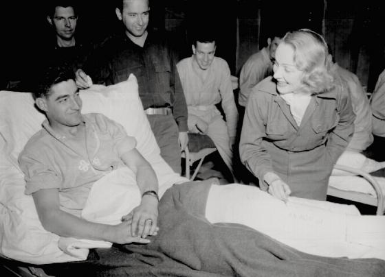 Marlene Dietrich Belgium 1944