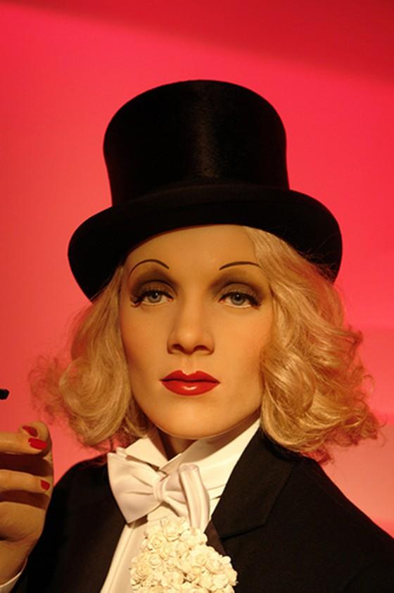 Marlene Dietrich by Pete Shaky