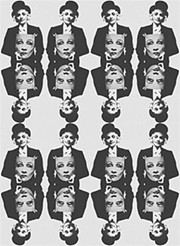 Marlene Dietrich by Michael Vollbracht