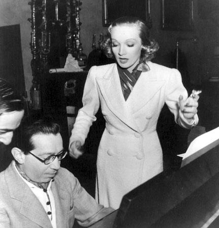 Marlene Dietrich & Frederich Hollaender