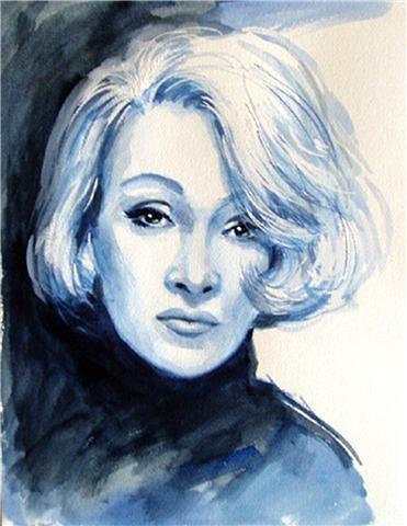 Marlene Dietrich by Peter Clover