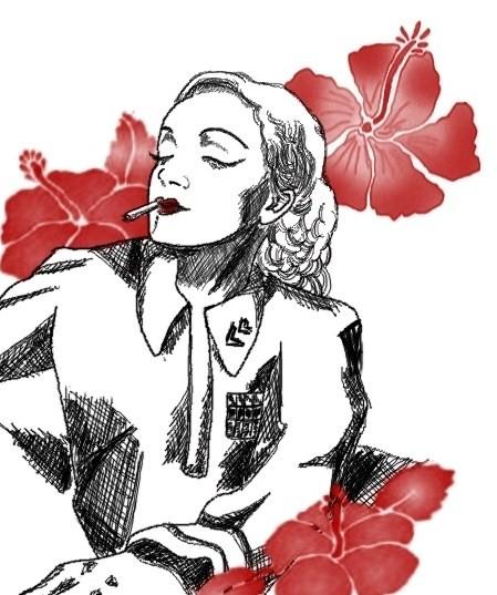 Marlene Dietrich by Anna Geipel