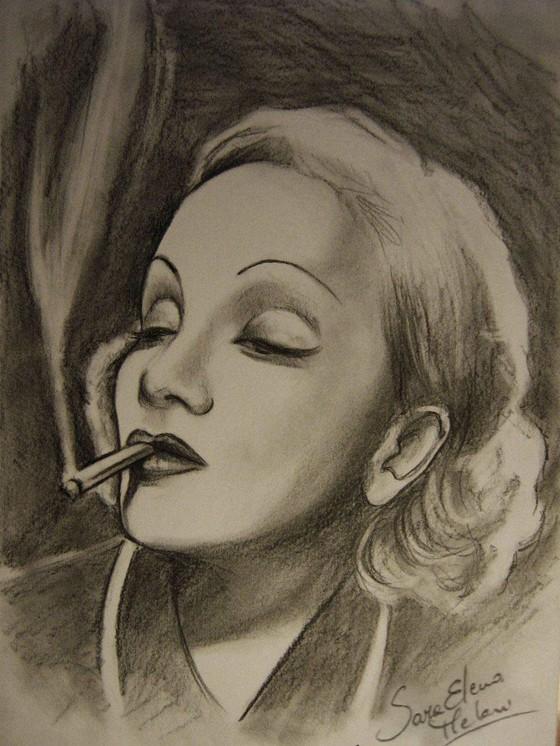 Marlene Dietrich by Sara Elena Meloni