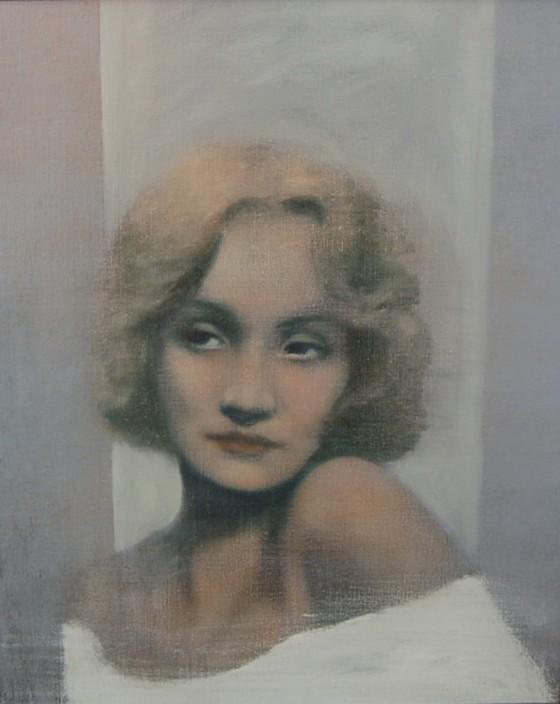 Marlene Dietrich by Brian Smyth