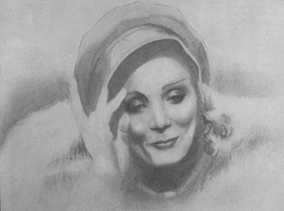 Marlene Dietrich by Robert Watson
