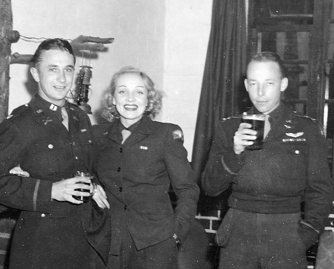 Marlene Dietrich USO Event