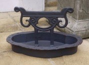 Cast Iron oval boot scraper