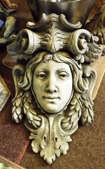 Lady Head Wall Planter