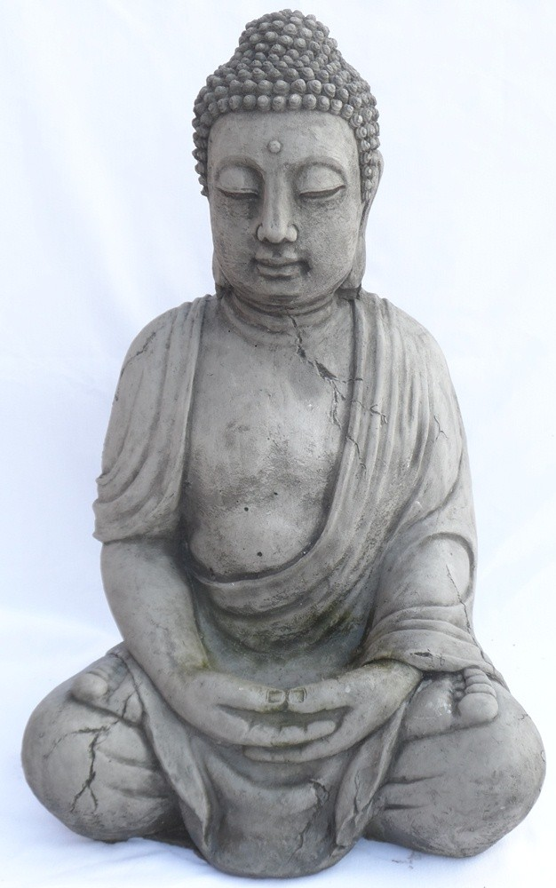 Buddha in a seated position