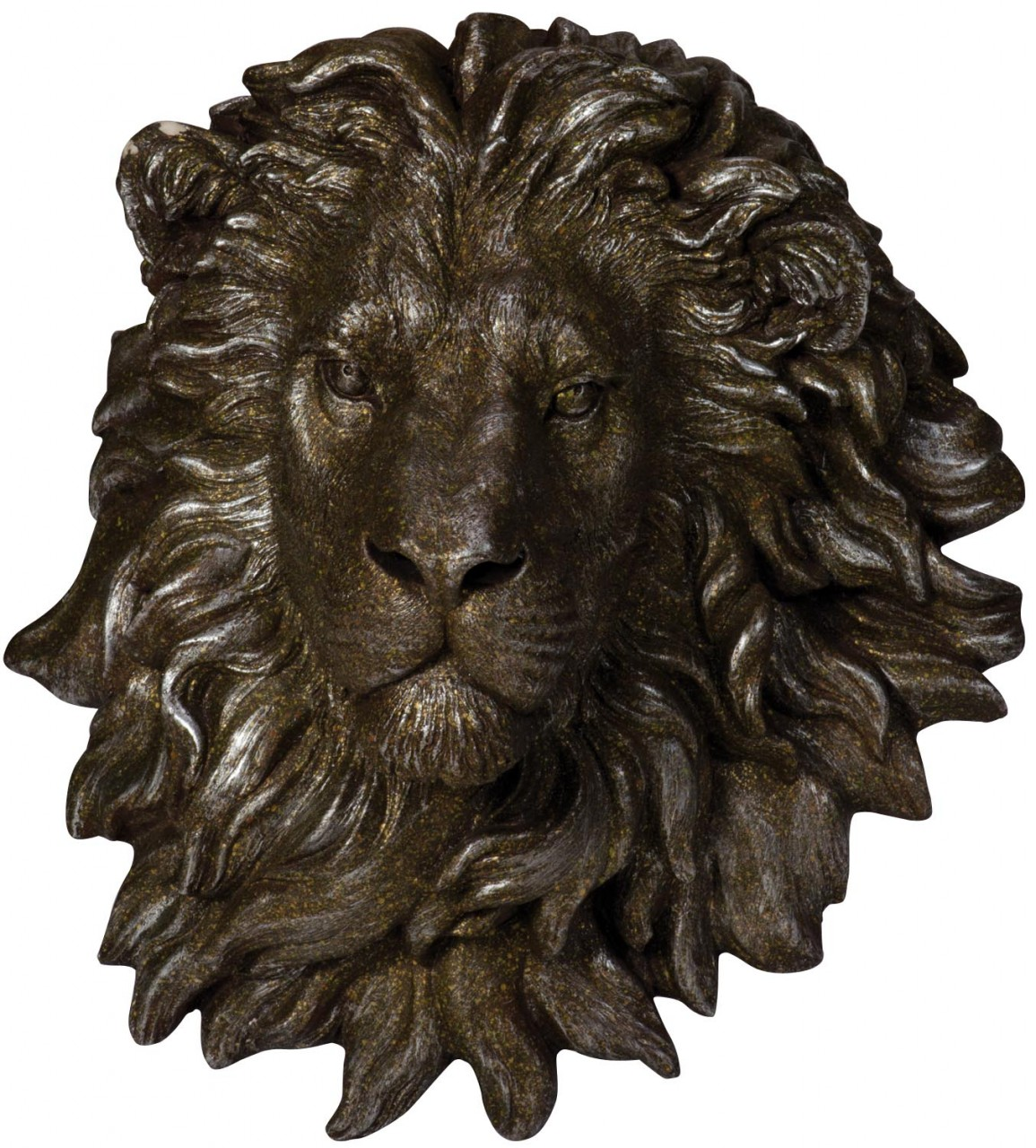 Wall mountable Lion head
