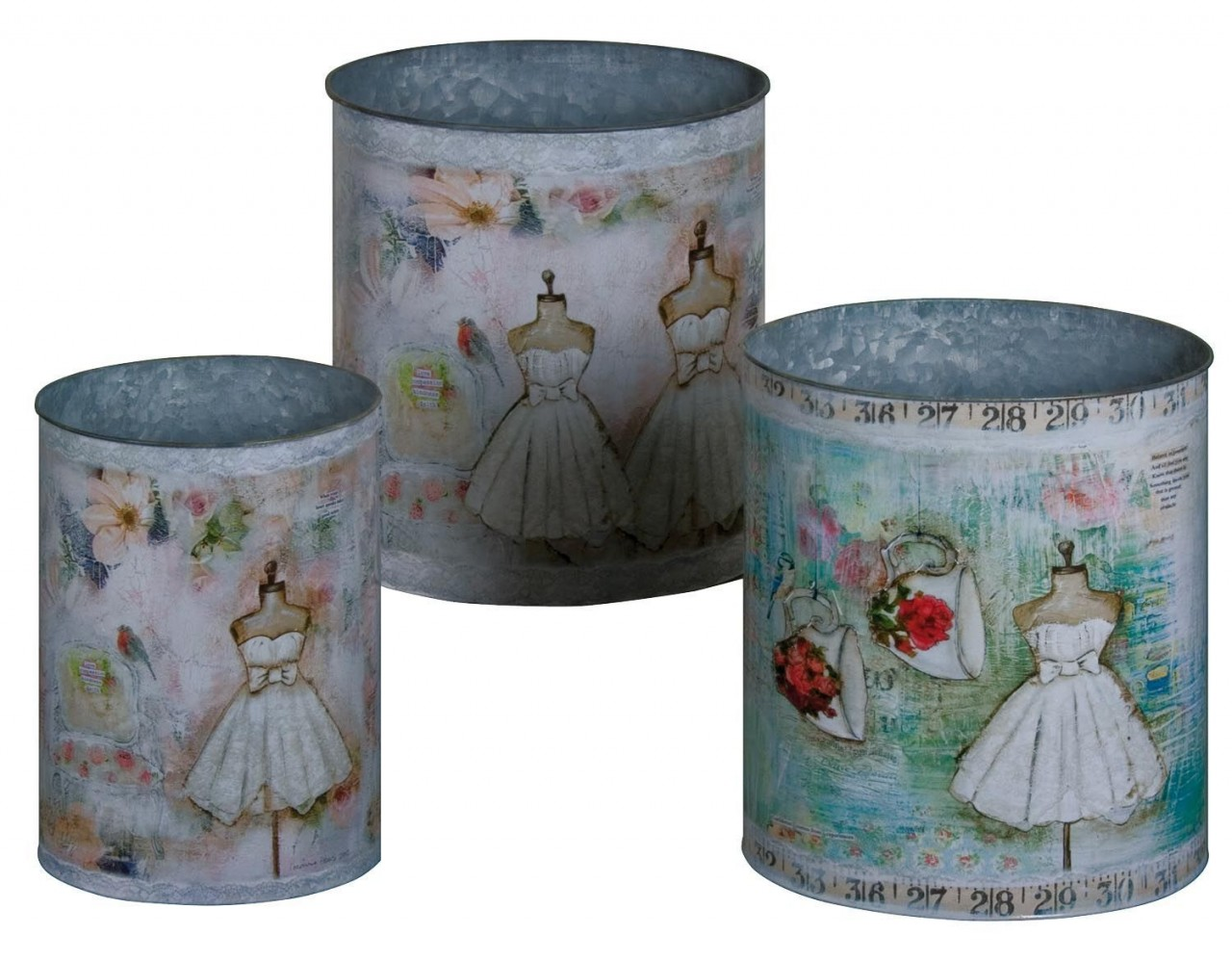 Decorative oval mannequin/fashion storage tin, for use in a bedroom, bathroom or even a wordrobe, storage can be beautiful