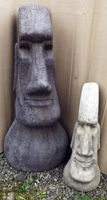 Mega & Large Easter Island Heads