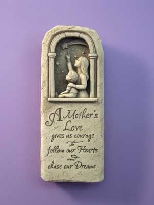 Mother and child plaque