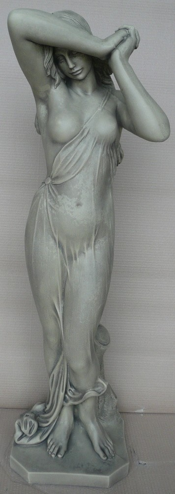 Full female statue
