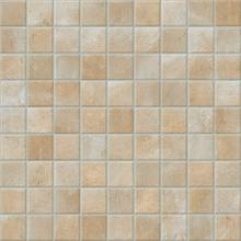 Light coloured vinyl flooring with small squares