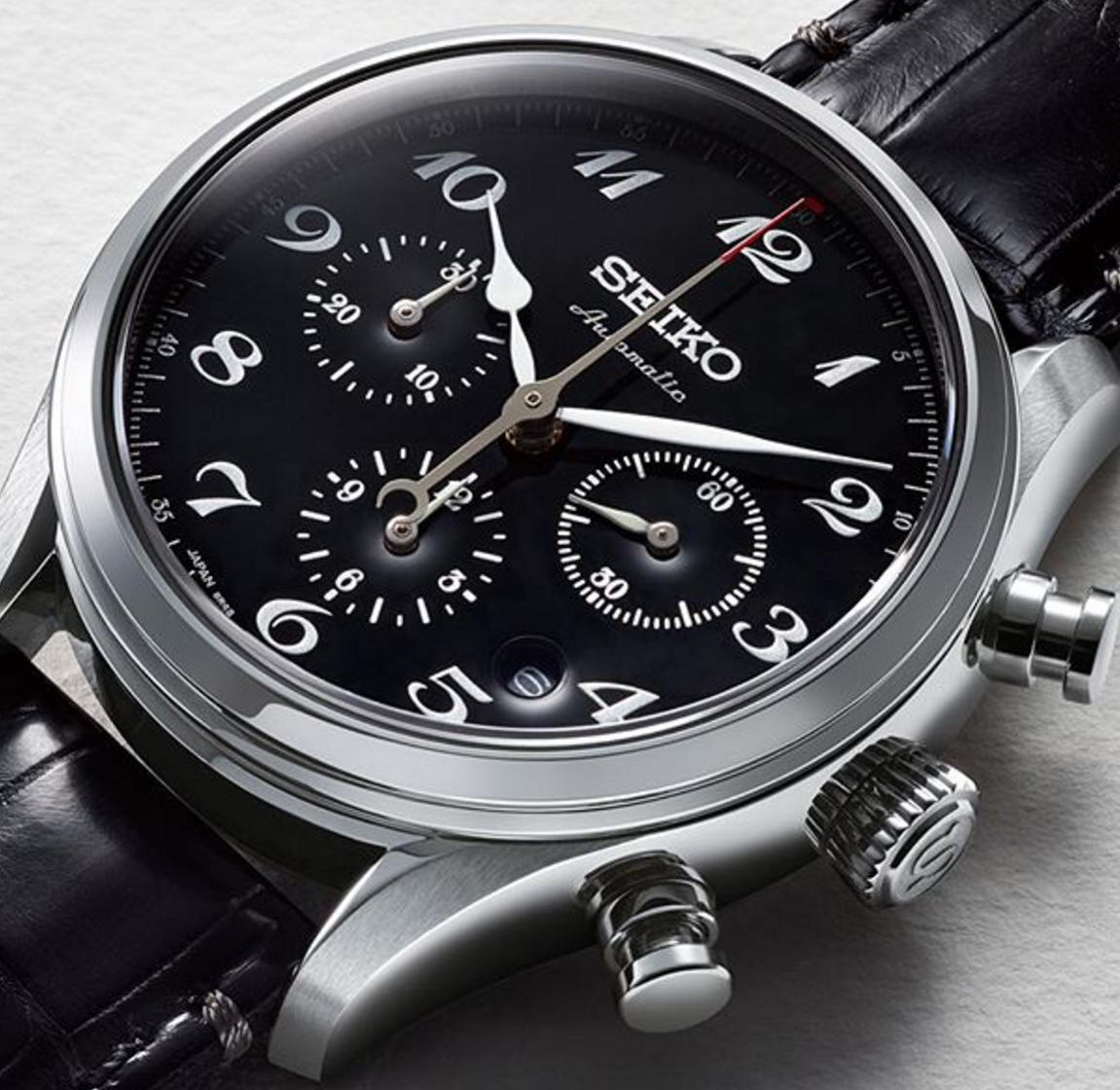 Review of Seiko Presage Chronograph SRQ021J1