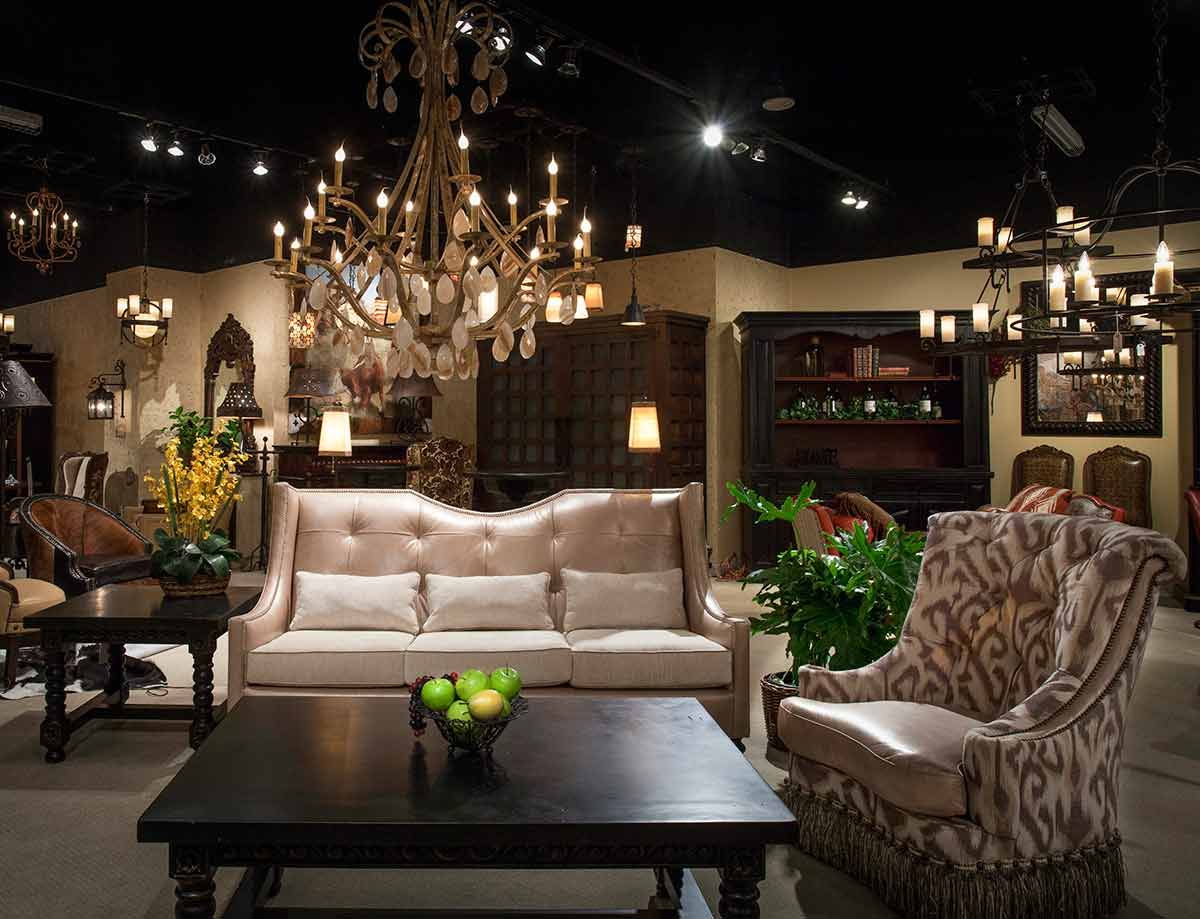 Catrina's Ranch Interiors for that glamorous look