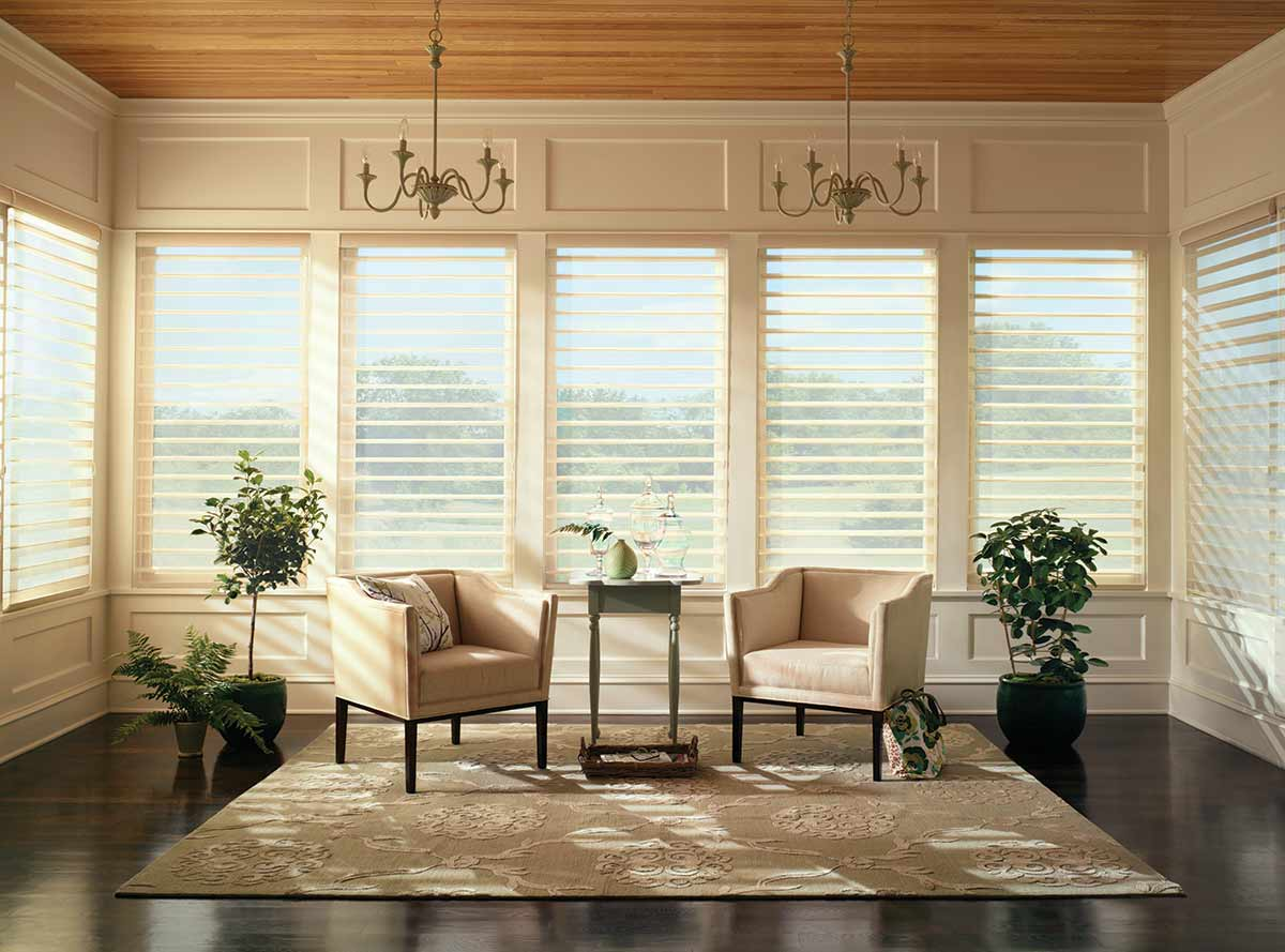 Nantucket shadings offer a streamlined selection of operating systems and soft sheers