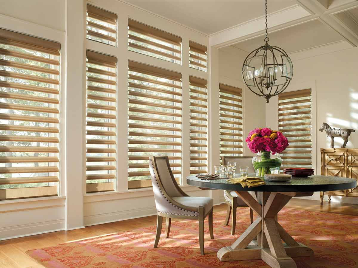 Alustra Pirouette Shades, refined texture and subtle sheen