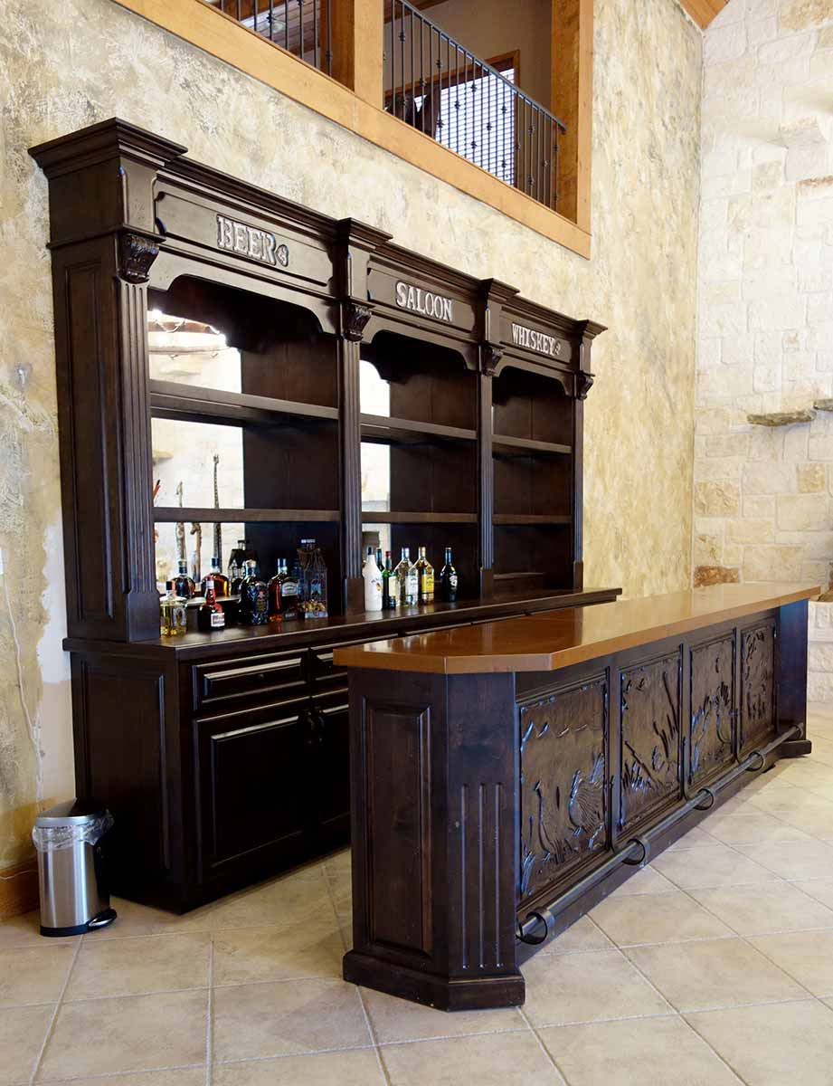 Fabulous Bar with Ornate Hand Carvings