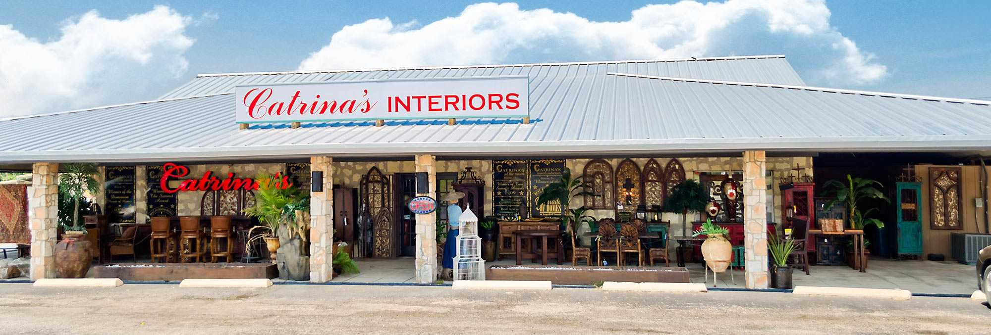 Catrina's Interiors 32840 IH 10 West, Boerne, San Antonio, Texas: Telephone 830-331-9010