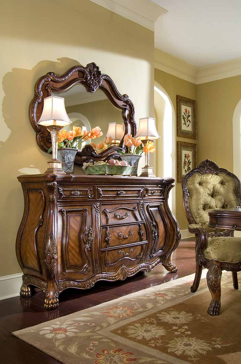 Chateau Beauvais sideboard with mirror