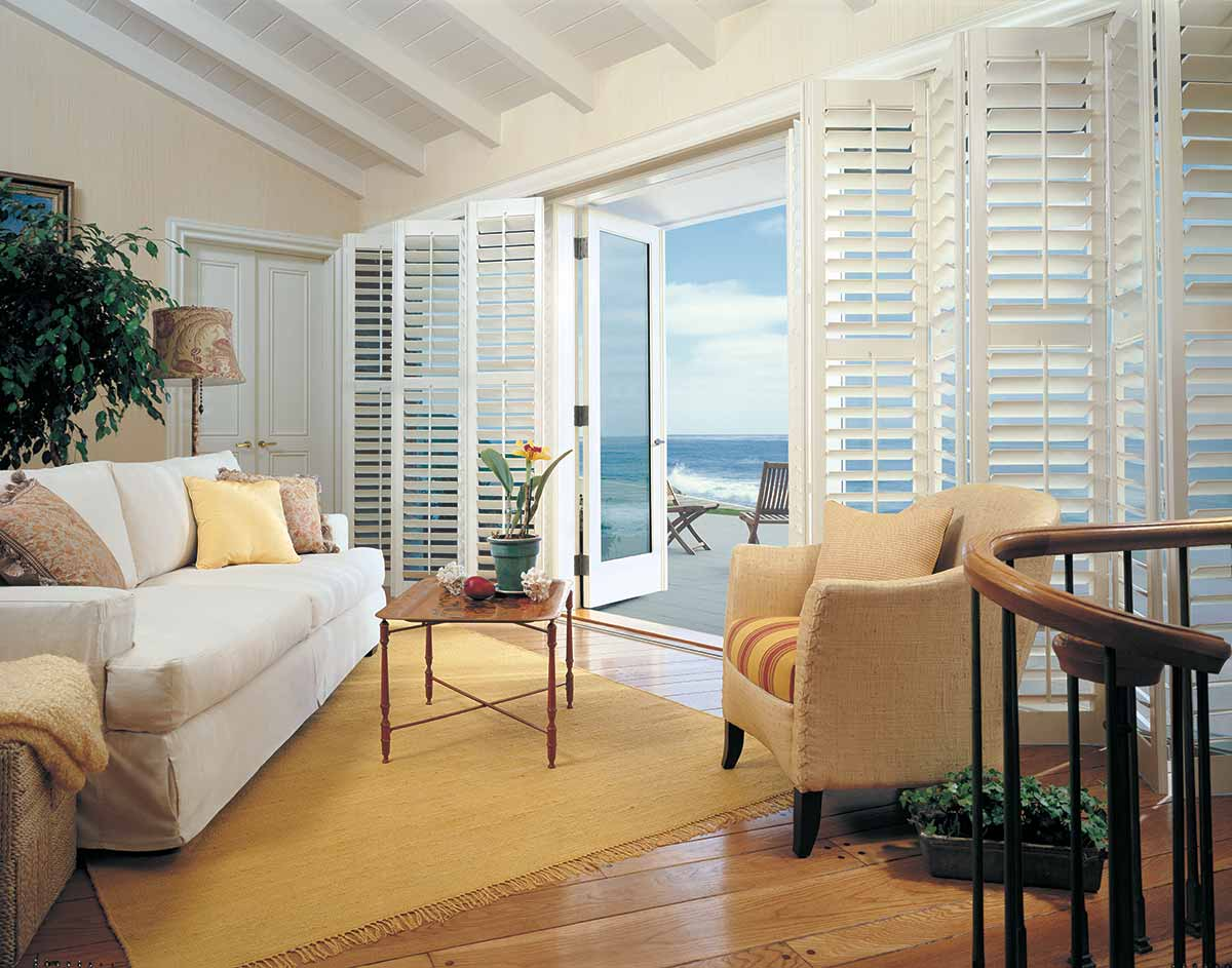 Heritance Plantation-style shutters crafted from real wood