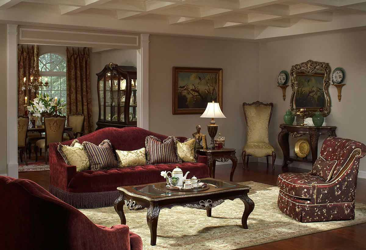 The Imperial Court living room