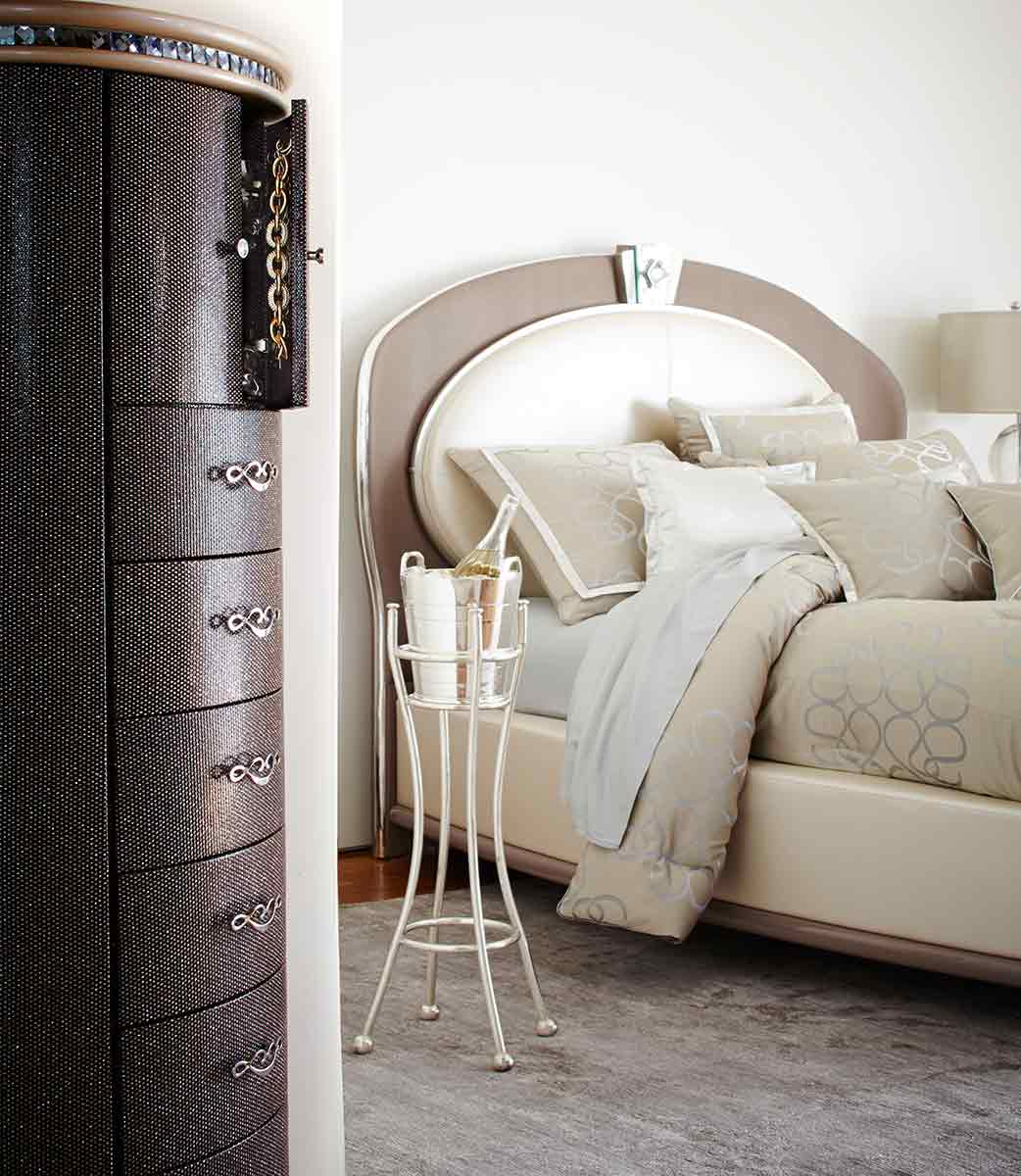 The Overture bedroom and chest of drawers
