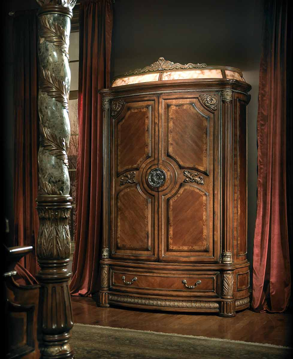 The Villa Valencia bedroom armoire