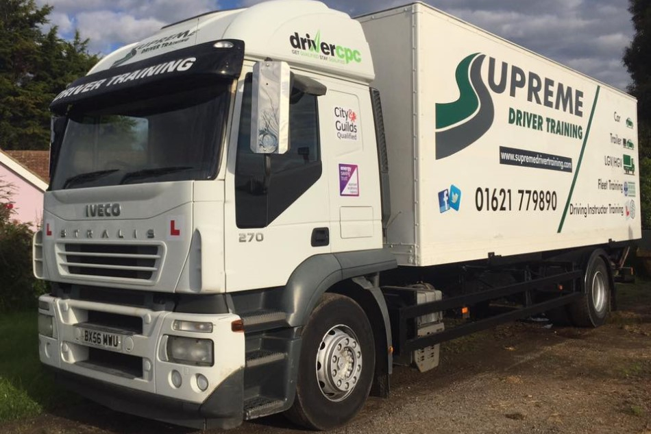 supreme LGV and HGV training essex