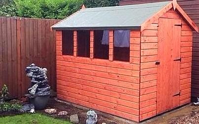Garden Sheds Essex apex garden sheds 6ft x 4ft £279.00 | essex | kent |london