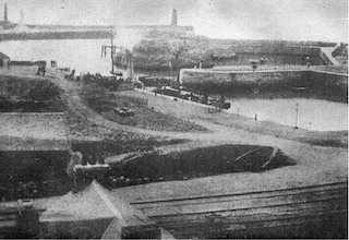 Portpatrick Harbour in 1869