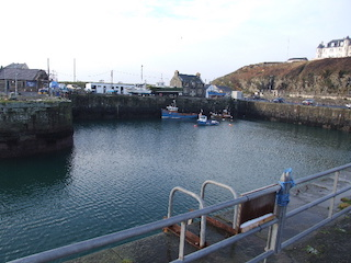 The harbour at Portpatrick is a community-owned asset