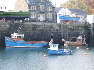 Fishing boats at Portpatrick Harbour, Dumfries and Galloway, Scotland
