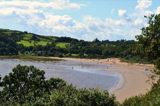 Sandyhills from the Cliffs by Alison Kalotka