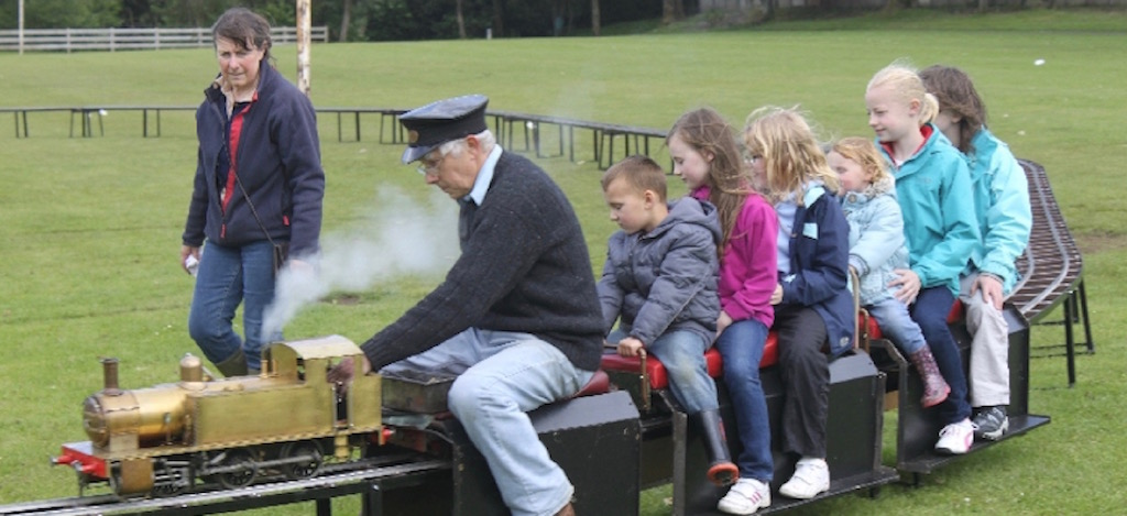 Full Steam Ahead in Colliston Park