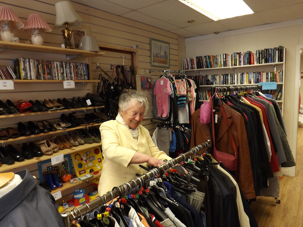 Inside Dalbeattie Preloved Shop