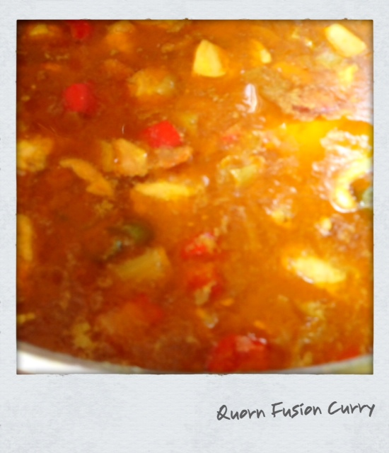 Quorn Fusion Curry with Rice (V)
