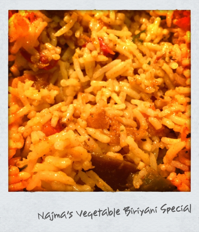 Vegetable Biriyani Special (V)