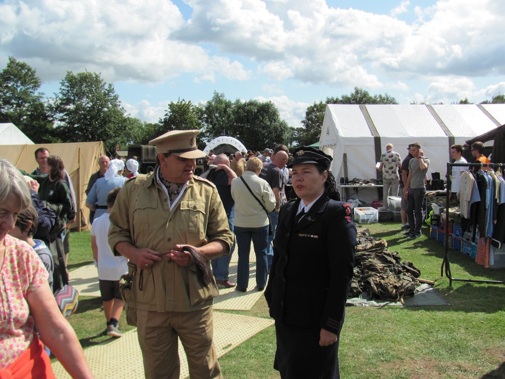 Walking History re-enactors