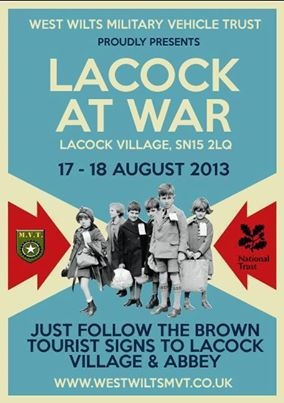 2013 Lacock at War flyer