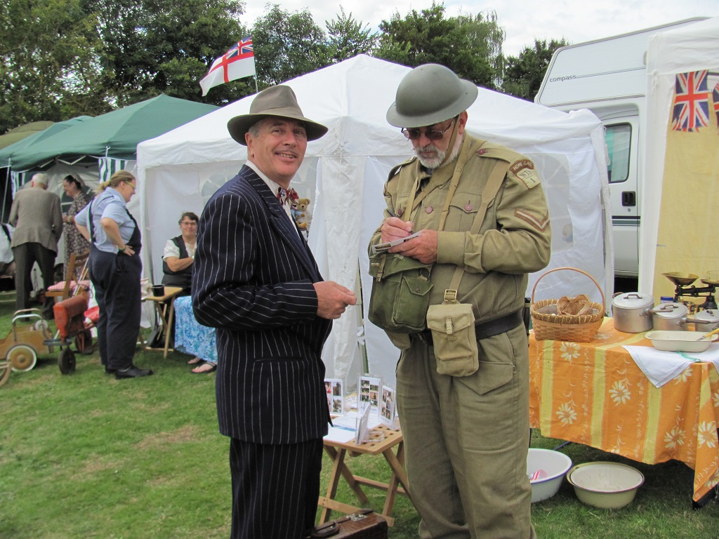 'Lucky' Uncle George and Home Guard (Brian Hinton)